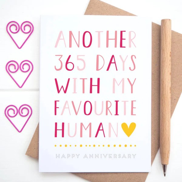 things to say in an anniversary card