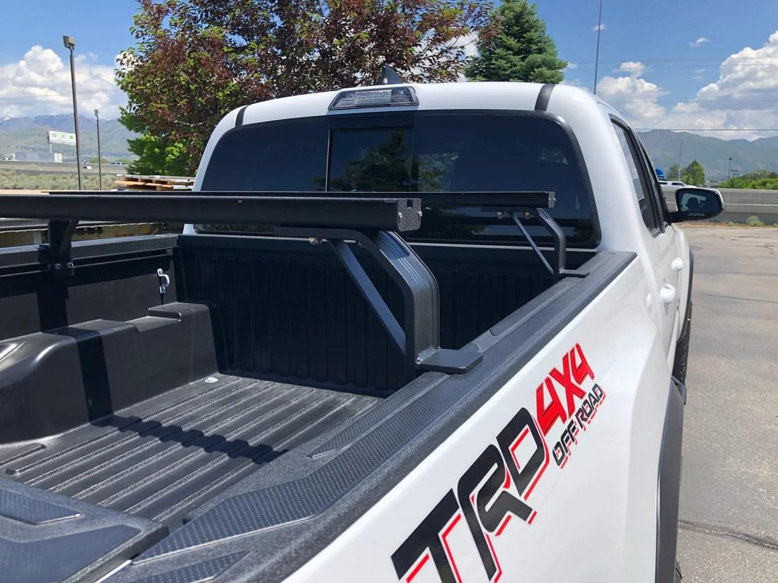 toyota tacoma k9 bed rail load bar kit