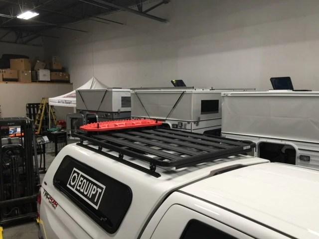 truck shell k9 roof rack kit