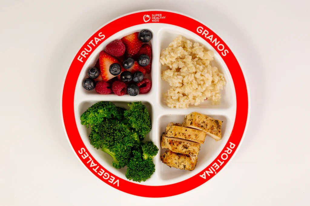 Healthy Portion Control Spanish