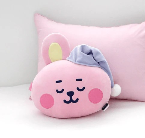 bt21 baby a dream of baby face cushion