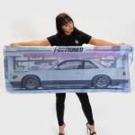 Nissan Silvia S13 Workshop Flag Hardtuned Car Clothing Racewear