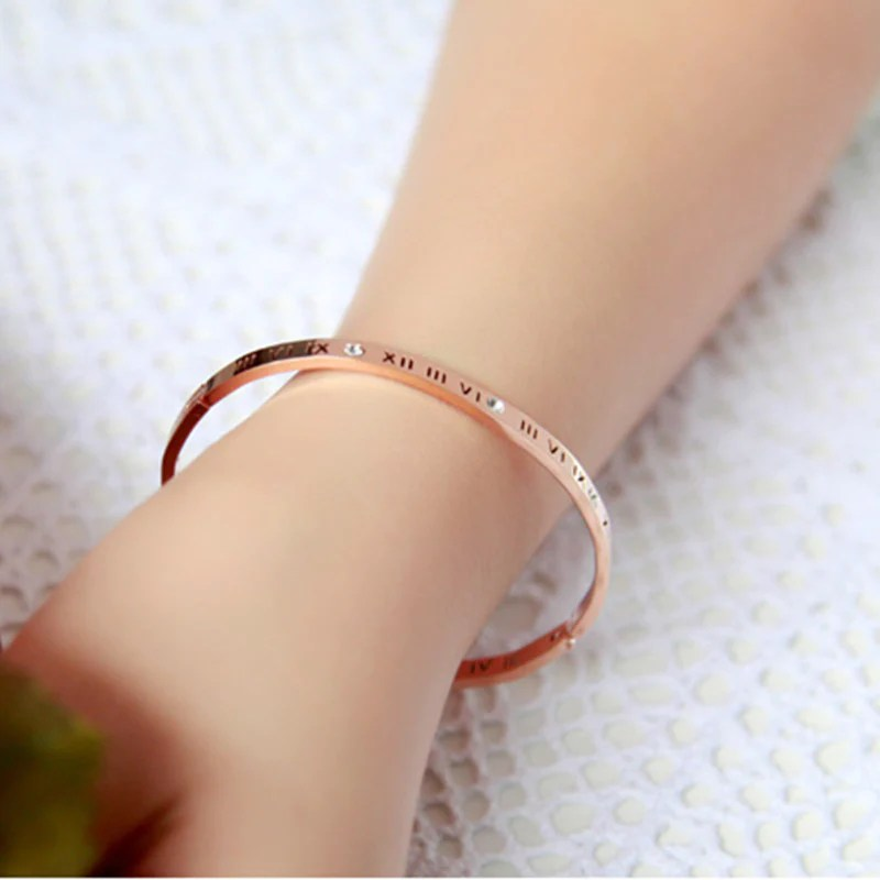 Cartier inspired Love Bracelet in 925 Sterling Silver with choice of         Cartier inspired Love Bracelet in 925 Sterling Silver with choice of  gold  rose gold or