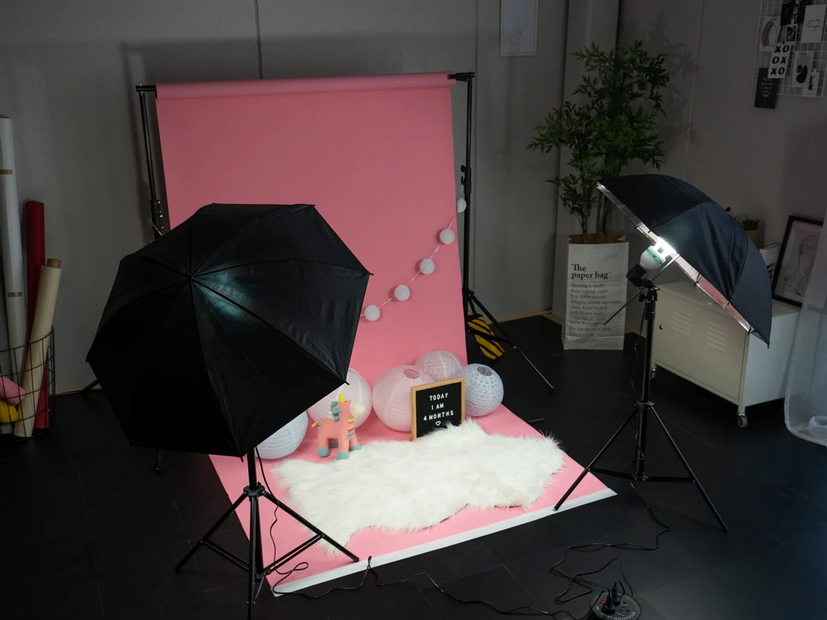 best diy home professional photography setup with a baby or child know how on newborn cake smashes and more