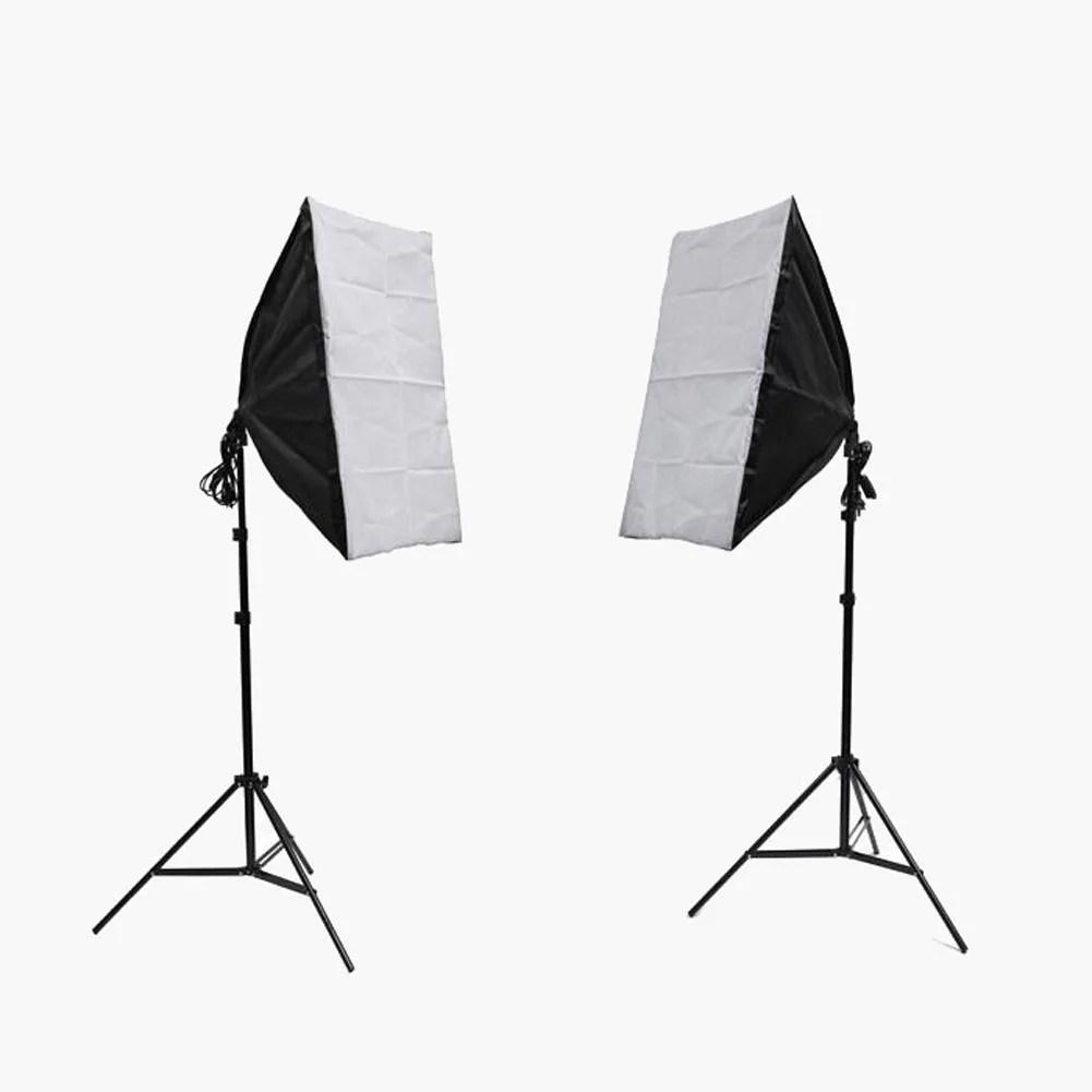 illuminate mate double rectangle softbox lighting kit