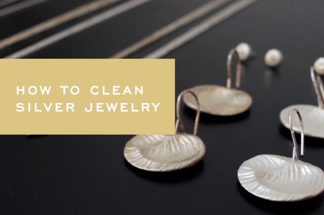 How to Remove Tarnish From Sterling Silver Jewelry [Video] – Corey