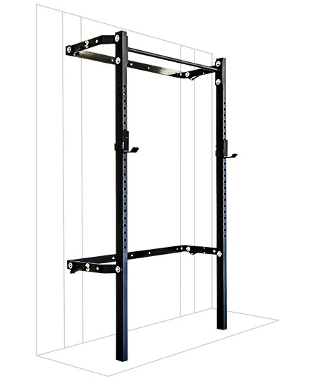2x3 profile rack with single bar