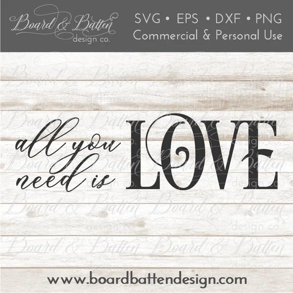 Download Love and Romance SVG Bundle - Board & Batten Design Co.