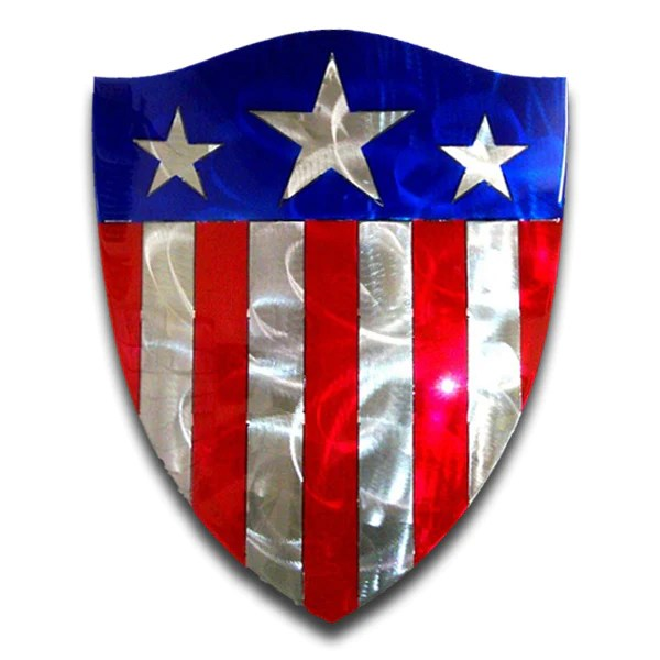 American Liquid Metal American Shield Sign Ranger Up