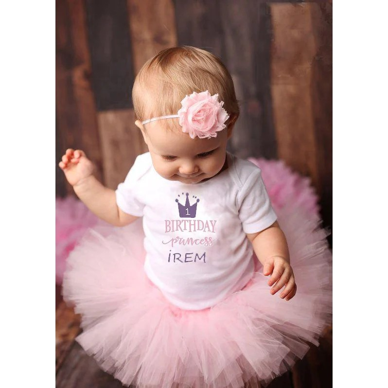 Birthday Princess Personalised First Birthday Outfit