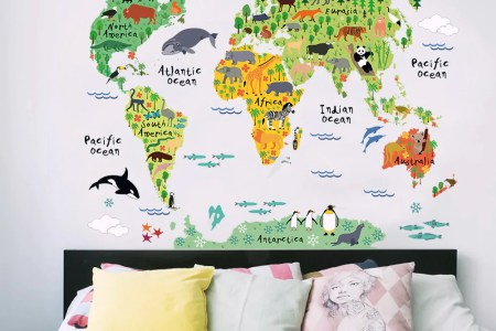 Map wall stickers free wallpaper for maps full maps world map outlines wall decal continents decal large world world map outlines wall decal continents by homeartstickers b great uk map wall sticker wall gumiabroncs Choice Image