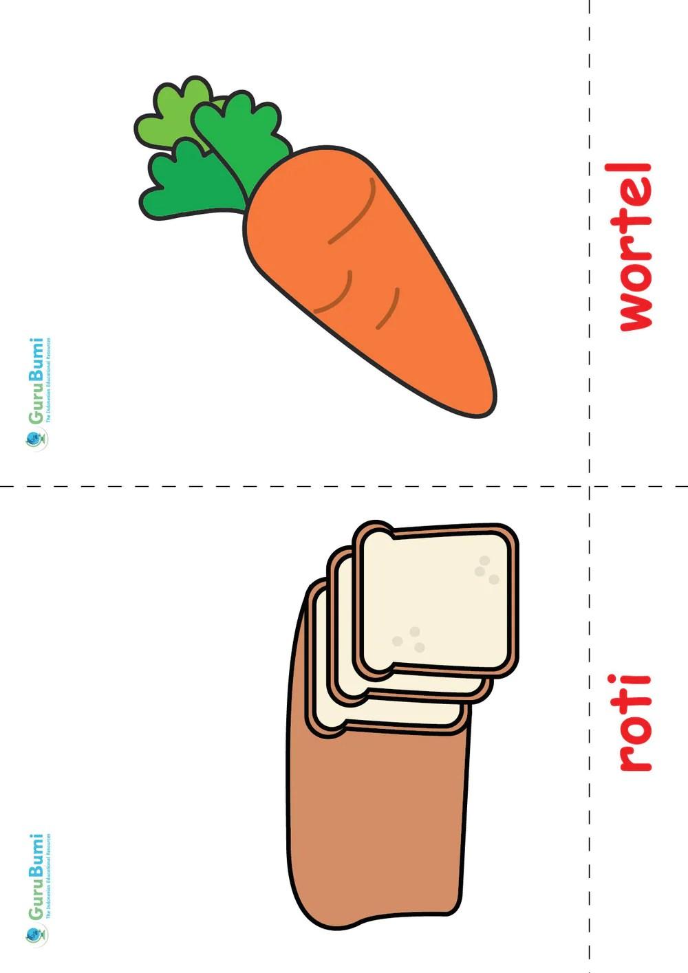 Mewarnai Makanan Sehat : mewarnai, makanan, sehat, Contoh, Gambar, Mewarnai, Makanan, Empat, Sehat, Sempurna, KataUcap
