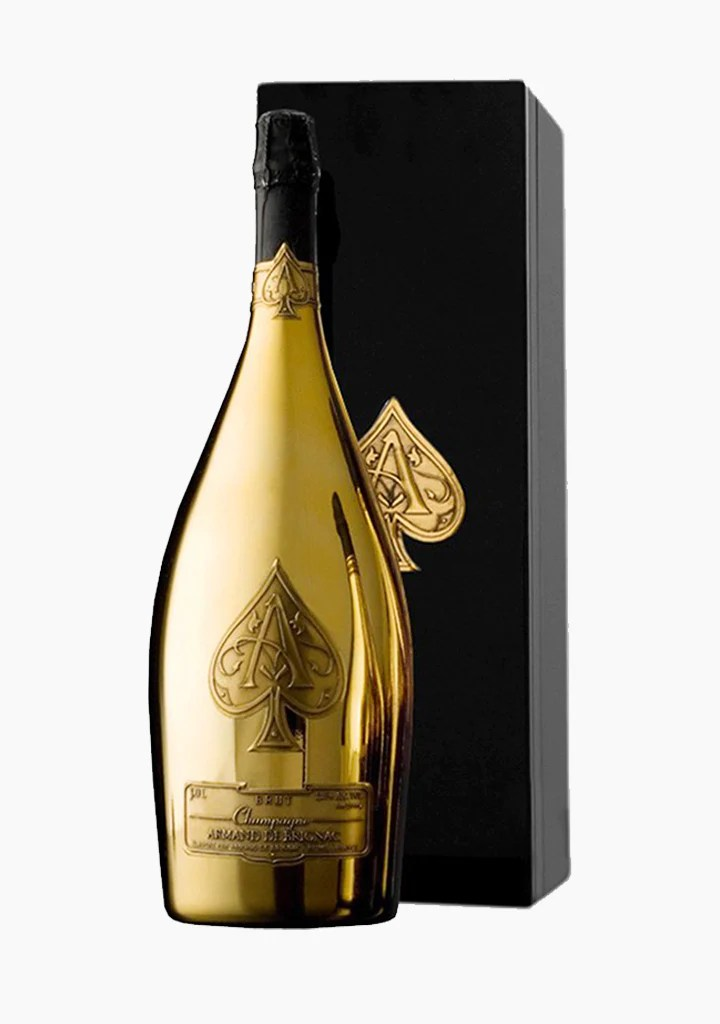 Armand De Brignac Ace Of Spades Brut Gold Champagne Willow Park Wines Spirits