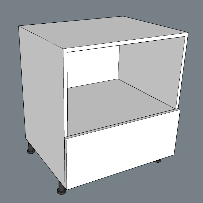 microwave base cabinet 1 bottom drawer modcabs