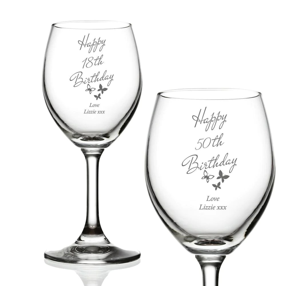Wine Glass Charm 40th Special Birthday Gift 50th Birthday Wine Glass Charm 21st 30th 18th Barware Wine Glasses Charms Shamsaco Ir