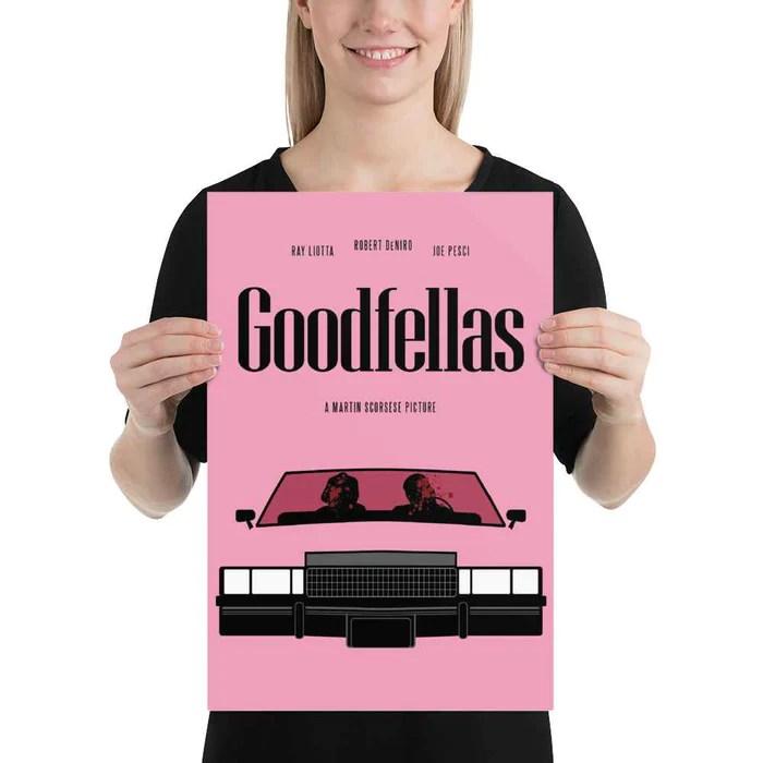 goodfellas movie car scene poster