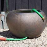 Hose Pot Bronze Garden Fountains Com