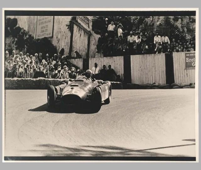 Alberto Ascari At Monaco In