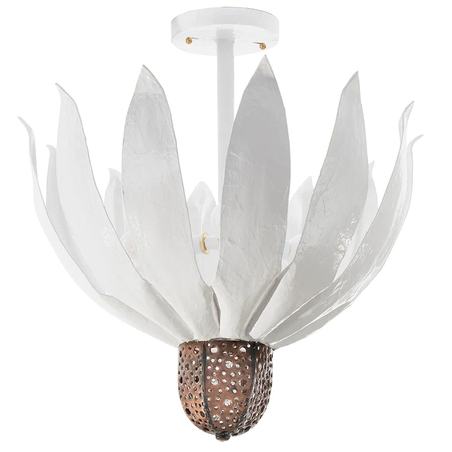 coneflower ceiling light