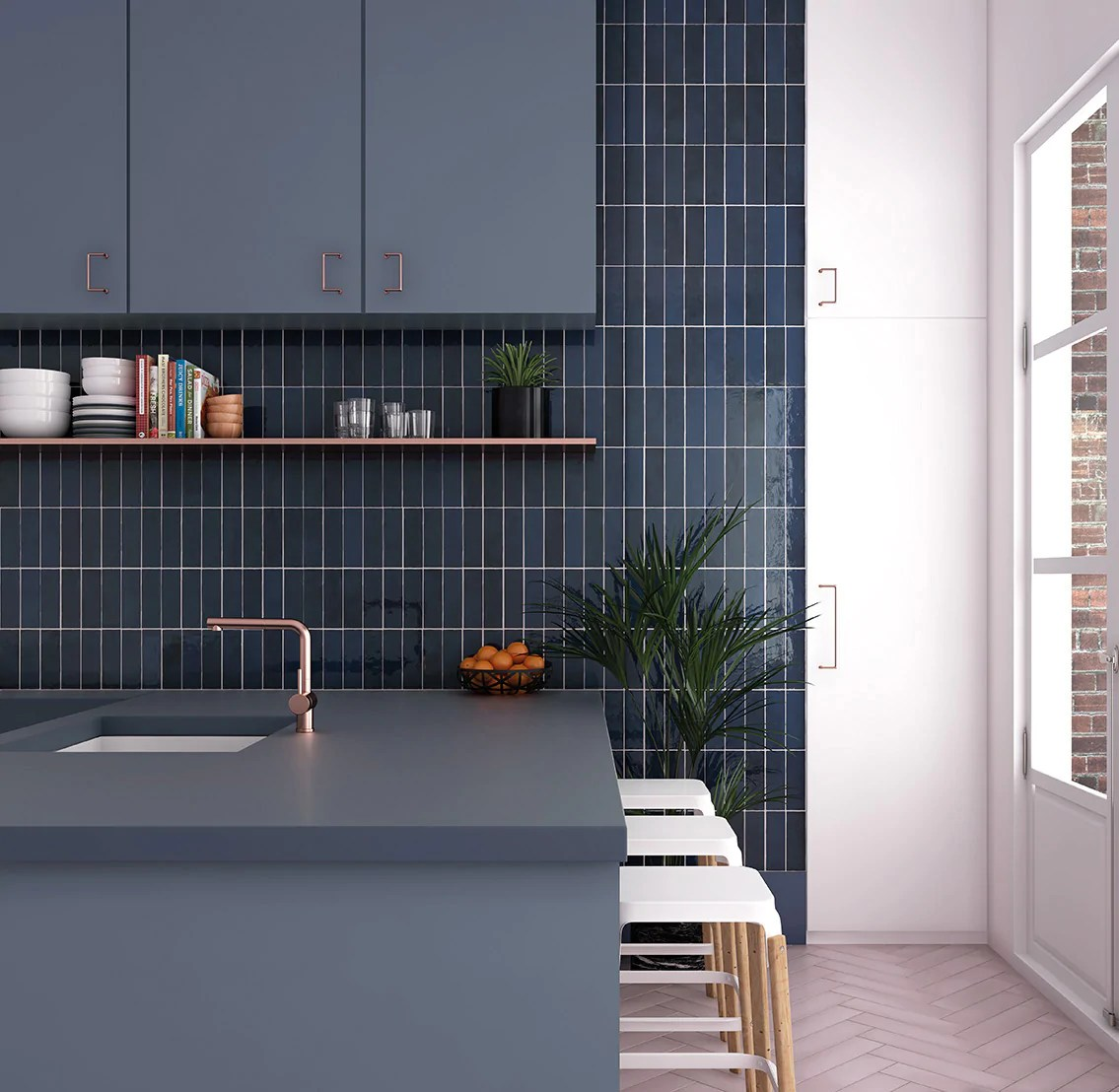 creative subway tile patterns and interior design ideas