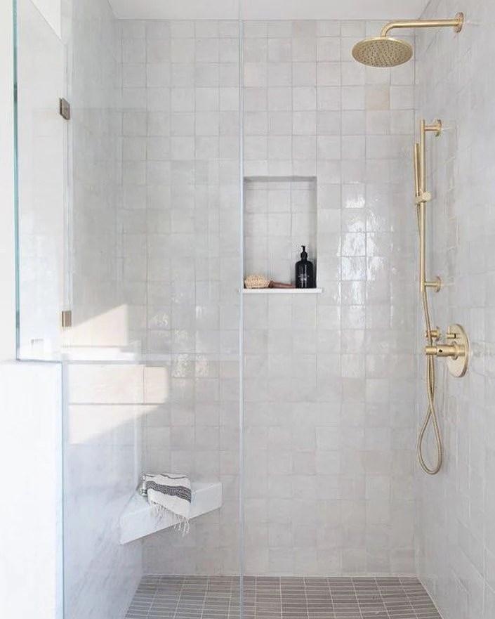 creative ceramic tile shower designs to