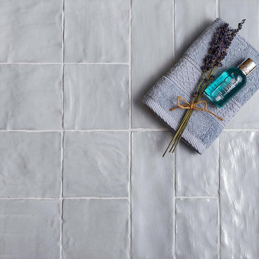 mallorca blue ceramic tile 4x4