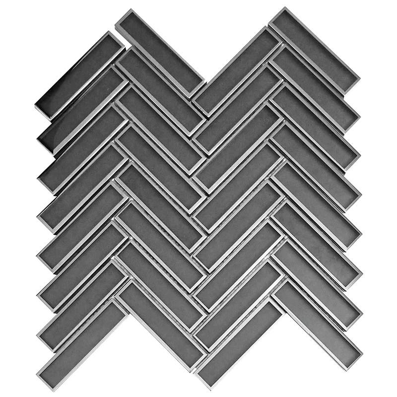 herringbone tile for backsplash floor