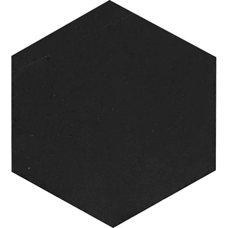 nero marquina 10 inch hexagon honed marble mosaic tile