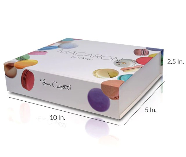 Rigid Collapsible Printed Gift Box With Lamination 10w X 5l X 2 5h
