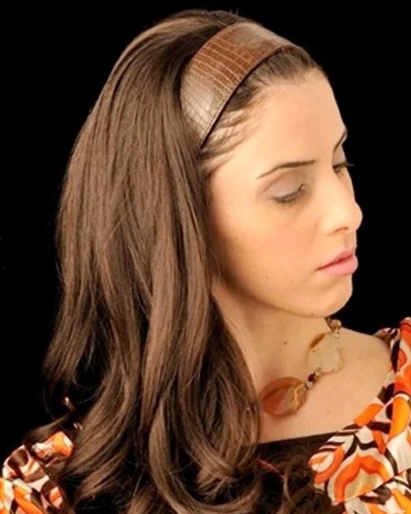 20 34 Headband Fall European Human Hairpiece By