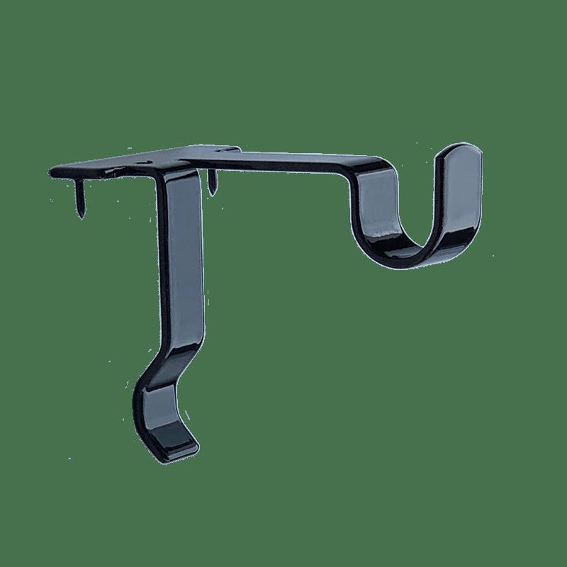 single center support curtain rod bracket