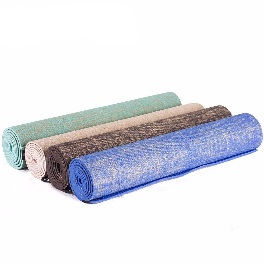 tapis de yoga jute naturelle esprit