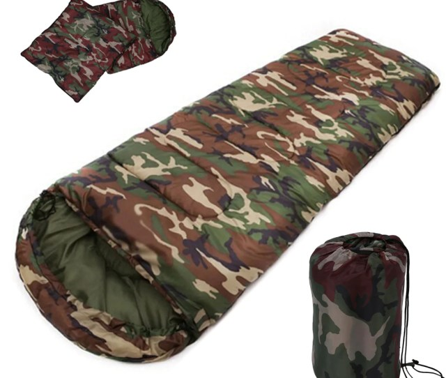 New Sale High Quality Cotton Camping Sleeping Bagdegree Envelope Style