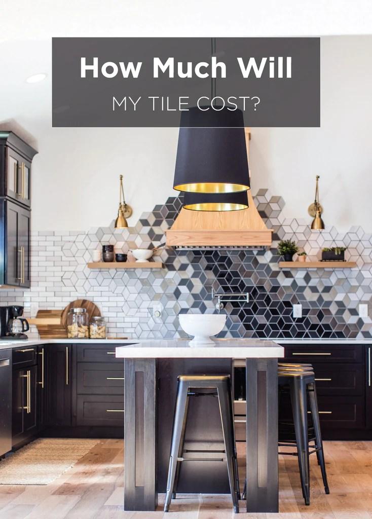 ceramic mosaic tile backsplash cost
