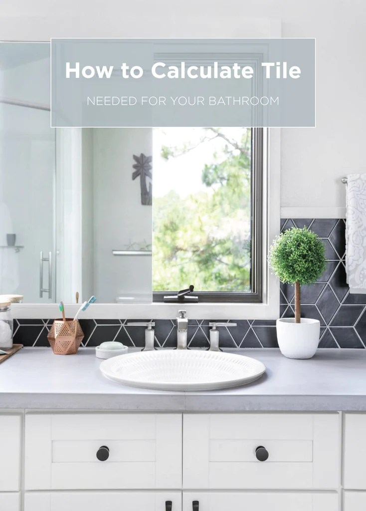 how to calculate tile needed for your