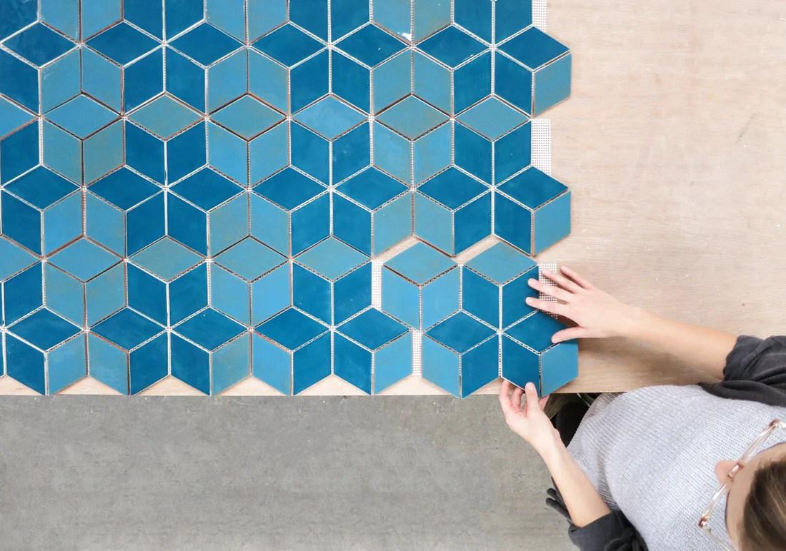 10 unique diamond tile design ideas