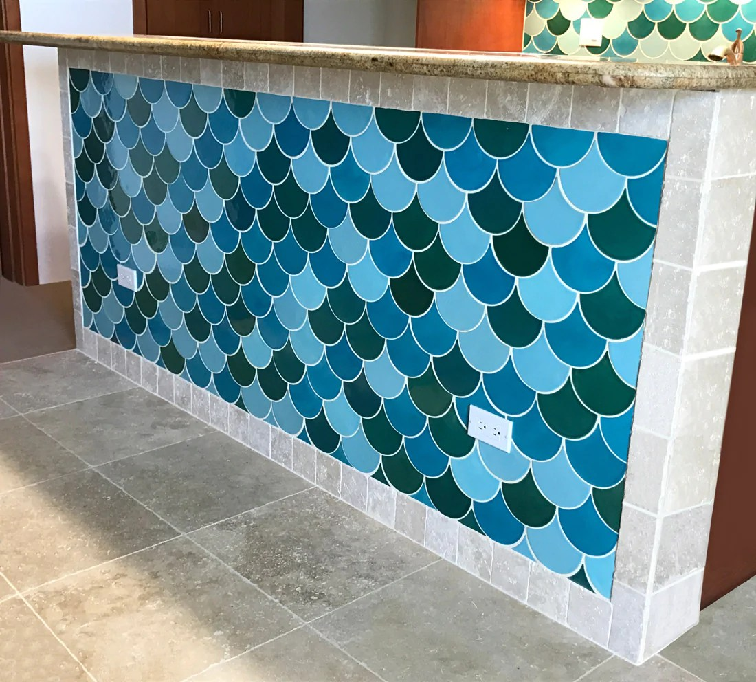 to tile your kitchen island