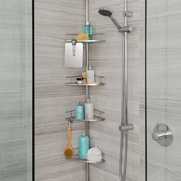 Pole Caddy Shower Rust Proof