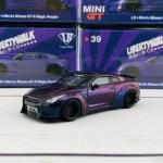 Mini Gt 1 64 Libertywalk Lb Works Nissan Gtr R35 Type 1 Rear Wing V Tokyo Station