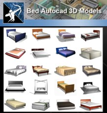 ★AutoCAD 3D Models