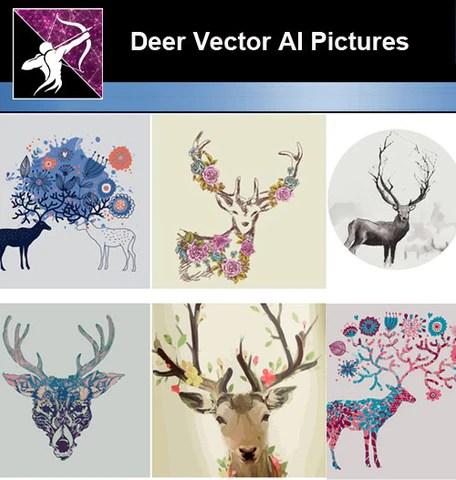 Deer AI Vector
