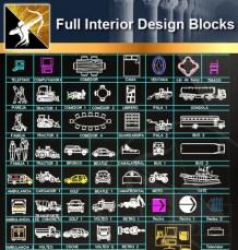 ★Interior Design CAD Blocks