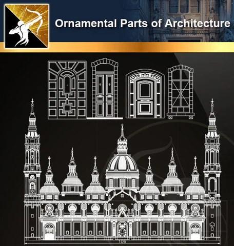 ★Ornamental Parts of Architecture