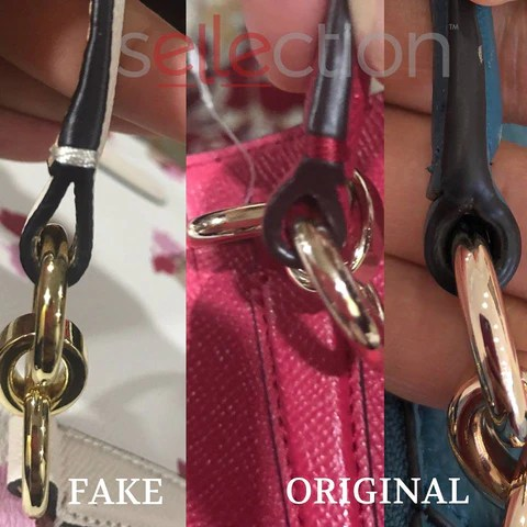coach original dan fake holder