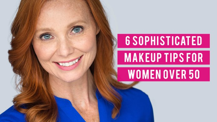 6 Sophisticated Makeup Tips For Women Over 50 Shine Cosmetics