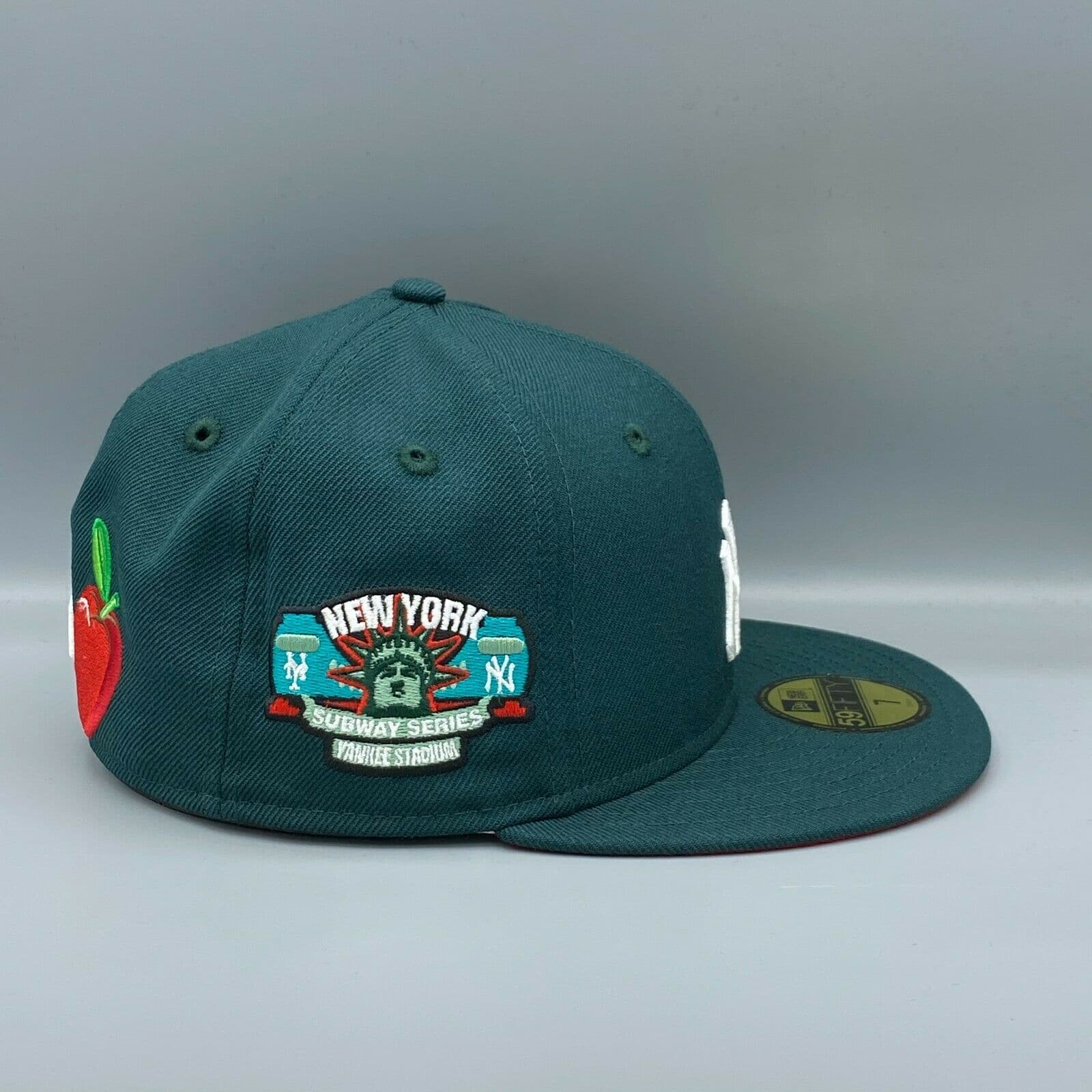 New Era New York Yankees Green Liberty 59fifty Fitted Hat