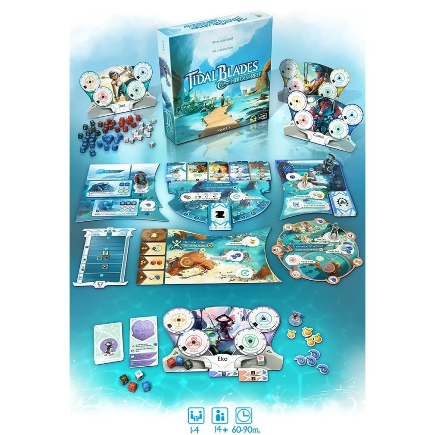 Tidal Blades Deluxe Edition and Angler's Reef Expansion – No Regret Games