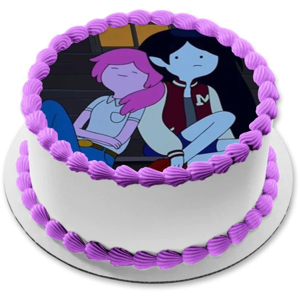 Adventure Time Finale Princess Bubblegum Marceline The Vampire Edible A Birthday Place