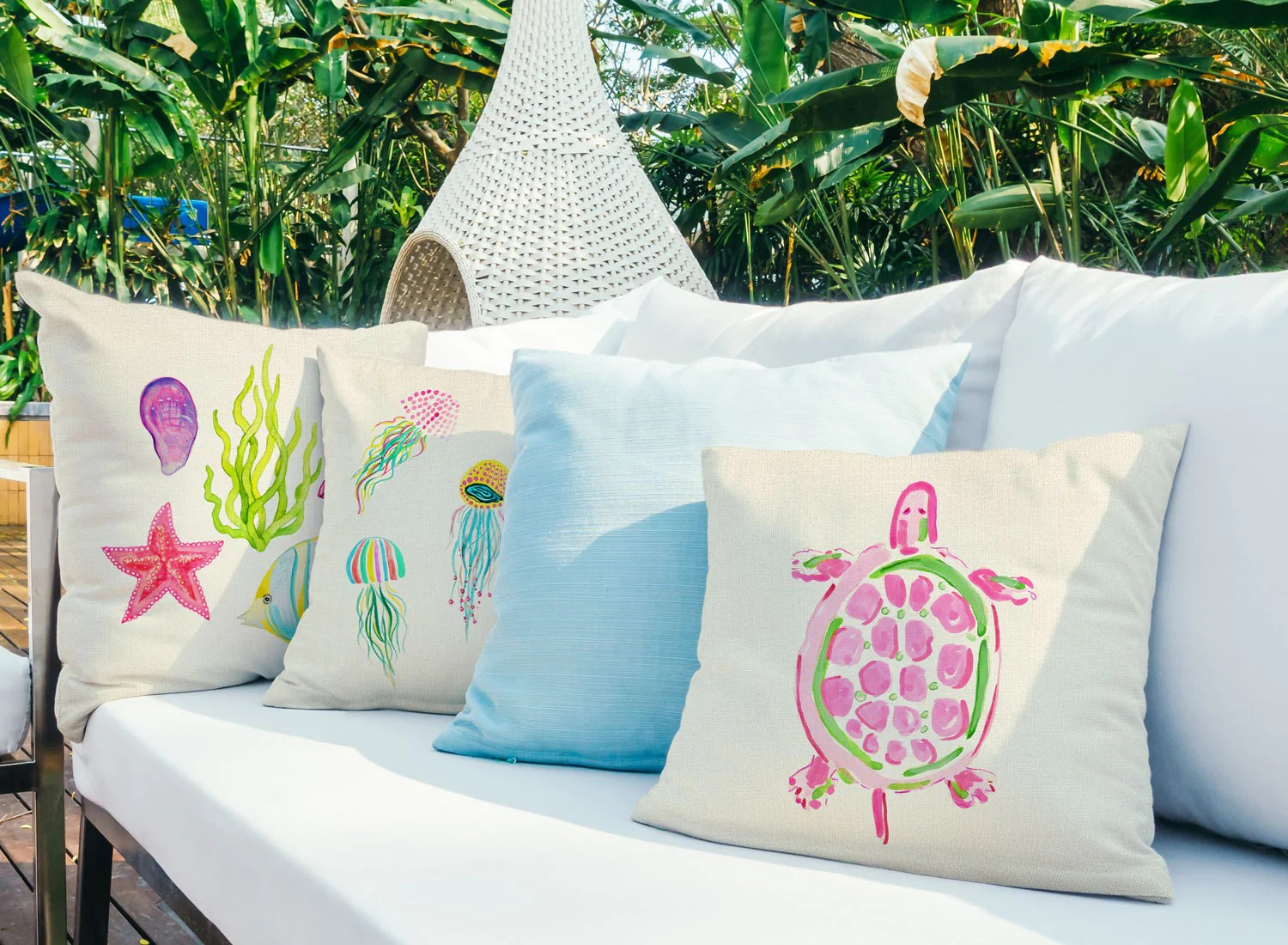 sea turtle pink throw pillow cover coastal designs throw pillow cover collection