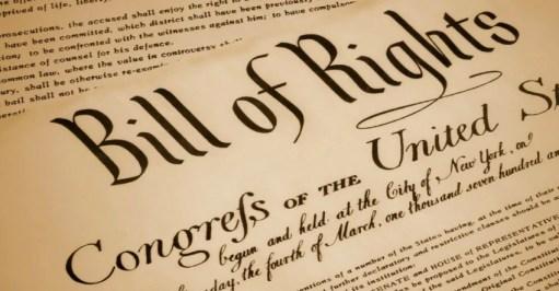 The Bill of Rights (Amendments 1 - 10)